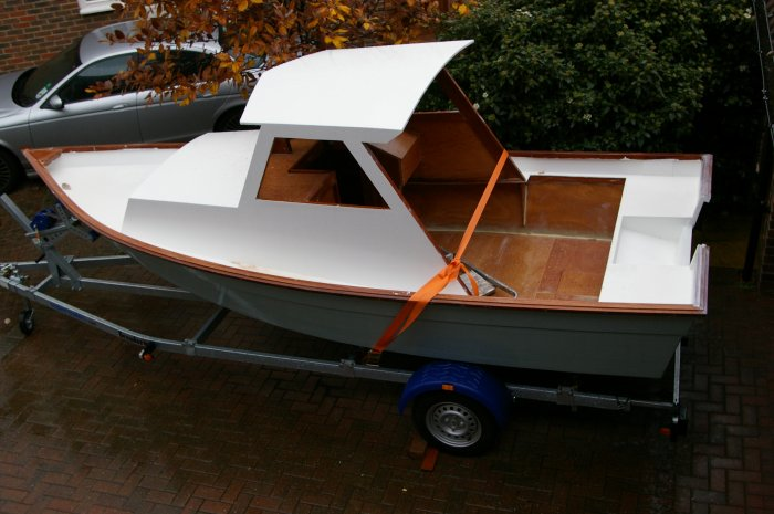 Cabin Skiff by Tony Young - Boatbuilders Site on Glen-L.com