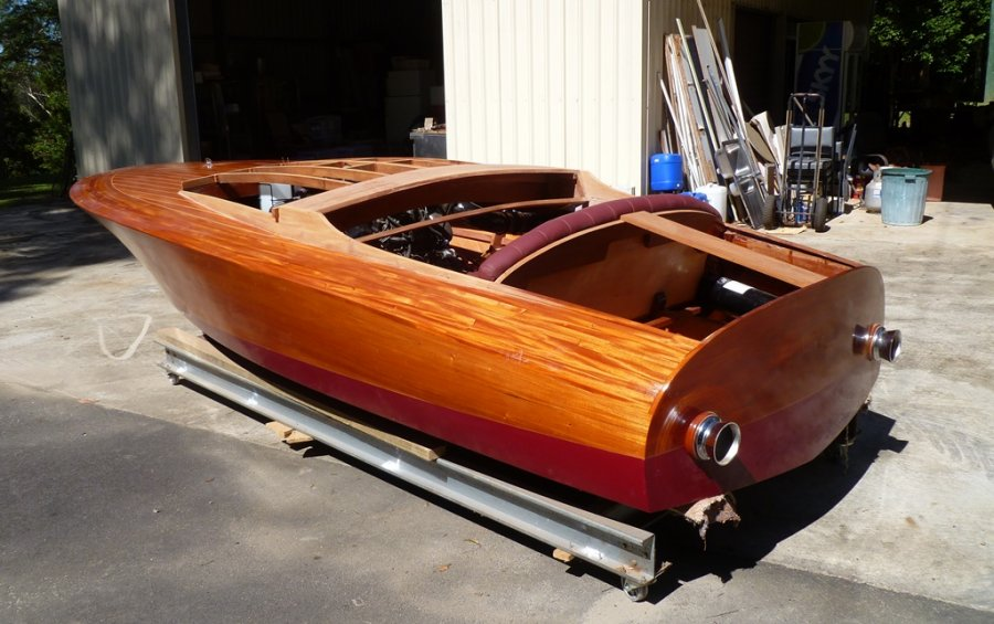 Glen L Marine : Wooden boat interview double eagle boatbuilders site on