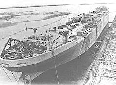 SS Selma Under Construction
